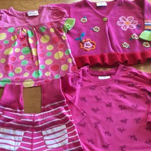Hanna Andersson 4 pc. Clothing Bundle Girls 18-24m